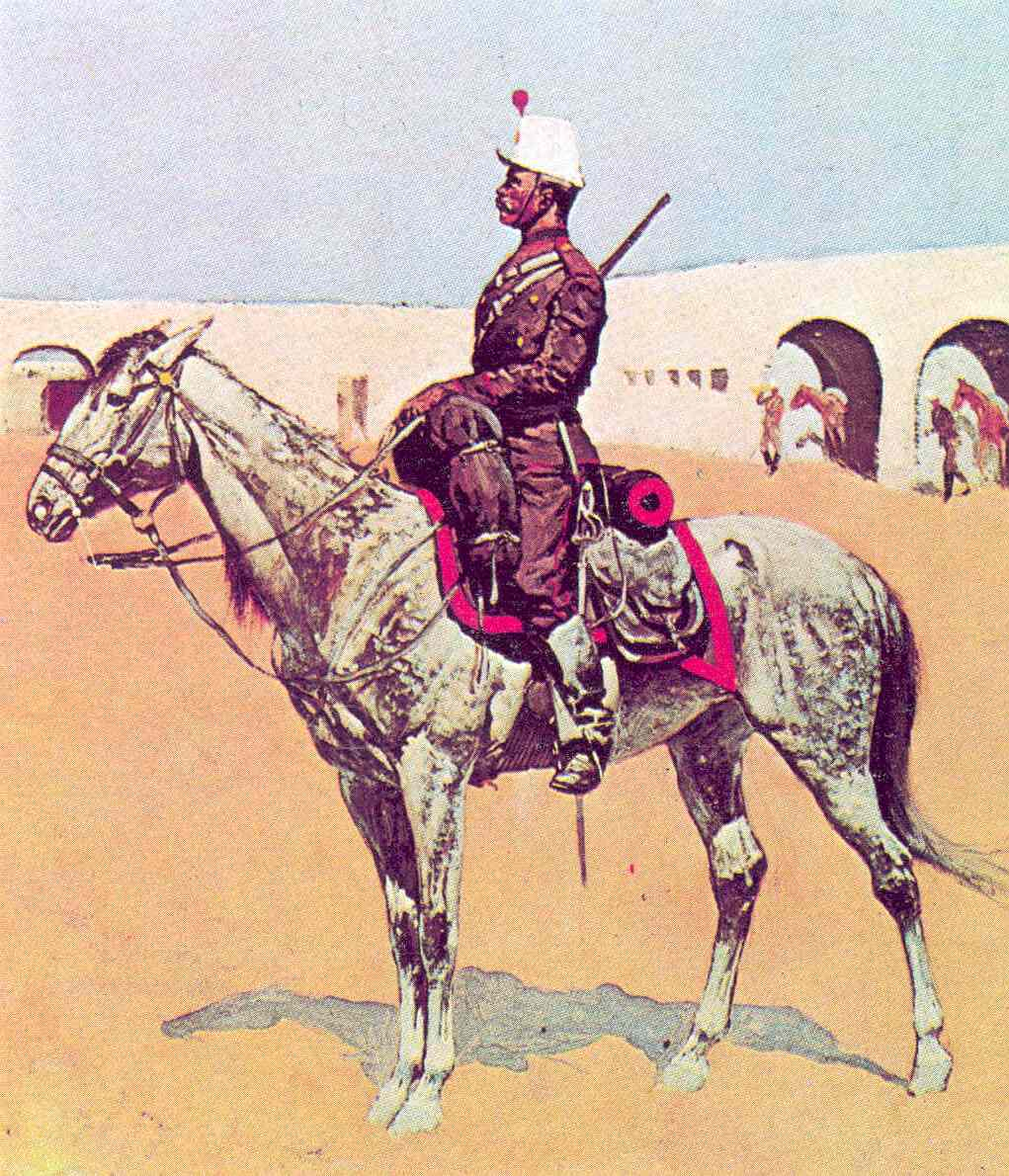 regular cavalry 1890