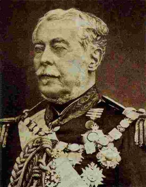 The Marquis de Caixias allied commander in chief