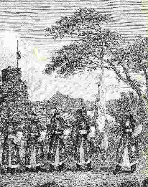 chinese troops of 1796