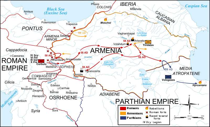 the Partho-Roman Wars