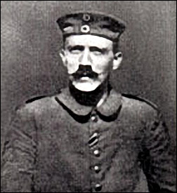Young Adolf in the trenches - the barbarity he witnessed must have further dehumanised him