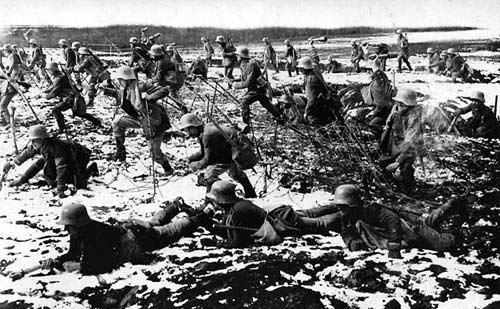 late war attack on the eastern front