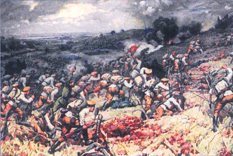 Turtuceia 1916 on the Rumanian border