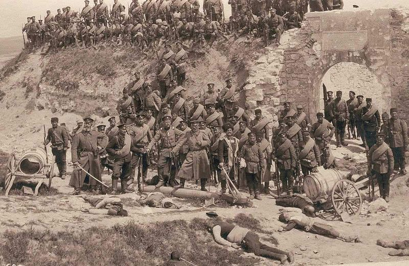 at Adrianople 1912