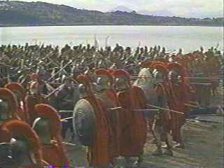 The 300 Spartans at Thermopylae