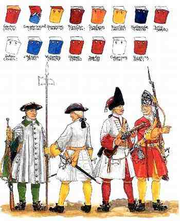 Danish troops of the C18
