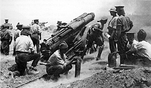 heavy artillery at gallipoli 1915-16