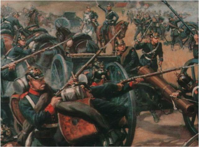 Hanover fights Prussia at Langensalza 1866