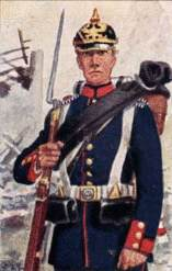 Prussian infantry 1865