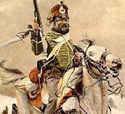 Hungarian hussar in Austrian service - Napoleonic Wars