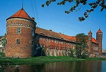 Lidzbark Castle - the Austirans fought an action near here during their invasion of Poland in 1809