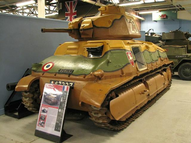 Somua at Bovington