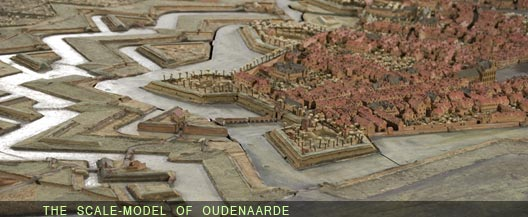 Oudenaarde in 1708 was typical of this land of fortresses