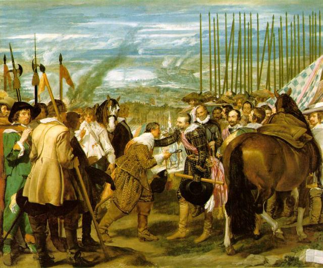 surrender of Breda to the Spanish