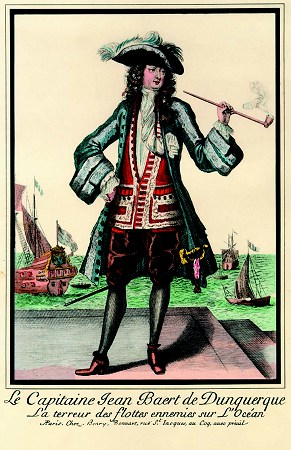 Jean Bart - a privateer in Dutch and later French service