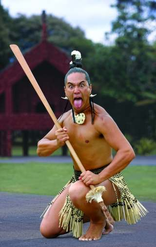 Maori Dance: Oceania