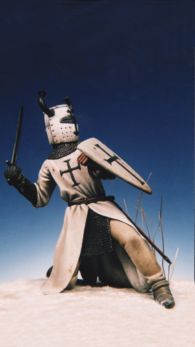 Teutonic knight on Peipus