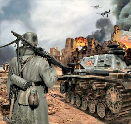germans push into stalingrad 1942