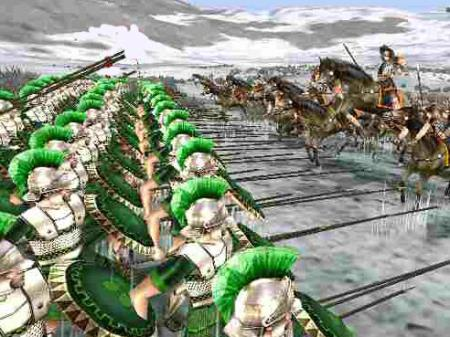 Cavalry falters against a spear Phalanx
