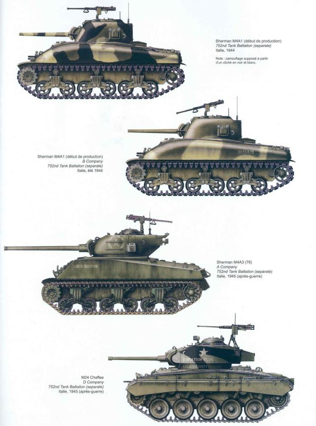 variants on the sherman tank